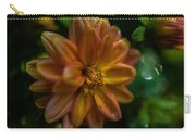 Macro Of Dahlia Flower Carry-all Pouch