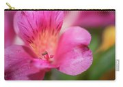 Macro Of Flower Carry-all Pouch