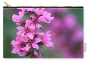 Macro Purple Flower Carry-all Pouch