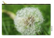macro shot of a beautiful Dandelion. Carry-all Pouch