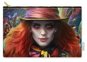 Mad As A Hatter Carry-all Pouch by Omri Koresh