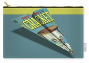 109s Cracked Mad Paper Airplanes Carry-all Pouch