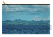 Madagascar, Nosy Be, Small Boat In Sea Carry-all Pouch