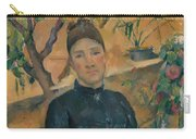 Madame Cezanne In The Conservatory Carry-all Pouch