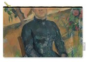 Madame Czanne Hortense Fiquet 18501922 In The Conservatory Carry-all Pouch