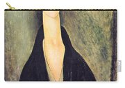 Madame Hanka Zborowska Carry-all Pouch by Amedeo Modigliani
