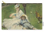 Madame Monet And Her Son Carry-all Pouch