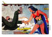Madame Strange Female Comic Super Hero Carry-all Pouch