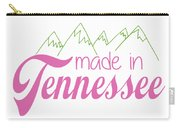 Made In Tennessee Pink Carry-all Pouch