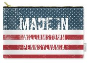 Made In Williamstown, Pennsylvania Carry-all Pouch
