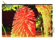 Madeira Funchal  Tritoma, Red Hot Poker, Torch Lily, Poker Plant Carry-all Pouch