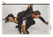 Madison Chock And Evan Bates Carry-all Pouch