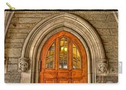 Madison Hall Rockefeller College Princeton University Gothic Door Carry-all Pouch