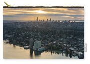 Madison Park And The Seattle Skyline Carry-all Pouch