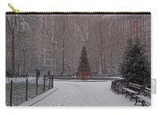 Madison Square Park In The Snow At Christmas Carry-all Pouch