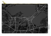 Madison Wisconsin Usa Dark Map Carry-all Pouch