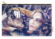 Madona Watercolor Carry-all Pouch