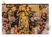 Madonna And Cherubs Carry-all Pouch