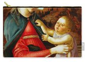 Madonna And Child 1470 Carry-all Pouch