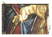 Madonna And Child And The Young St John The Baptist 1495 Carry-all Pouch