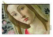 Madonna And Child Crowned By Angels Carry-all Pouch