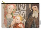 Madonna And Child Fresco, Italy Carry-all Pouch