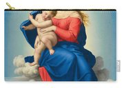 Madonna And Child In Glory Carry-all Pouch
