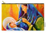 Madonna And Child Painting Carry-all Pouch