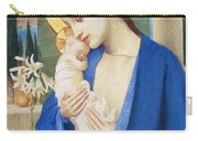 Madonna And Child Carry-all Pouch by Marianne Stokes
