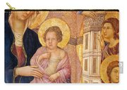 Madonna And Child Surrounded By Angels Carry-all Pouch