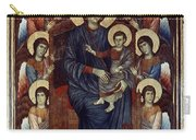 Madonna & Child In Majesty Carry-all Pouch by Granger