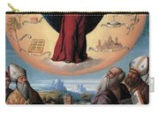 Madonna In Glory And Holy Hones Carry-all Pouch