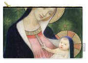 Madonna Of The Fir Tree Carry-all Pouch by Marianne Stokes