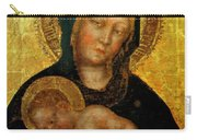 Madonna With Child Gentile Da Fabriano 1405 Carry-all Pouch