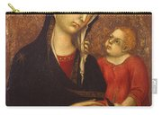 Madonna With Child Carry-all Pouch
