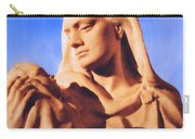 Madonna With Christ Child Carry-all Pouch by Kristin Elmquist