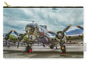 Madras Maiden B-17 Bomber Carry-all Pouch