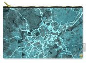Madrid Abstract Map, Blue Traffic Map, Europe Carry-all Pouch