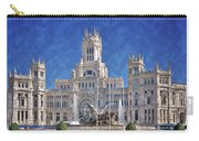 Madrid City Hall Carry-all Pouch by Joan Carroll
