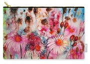 Magenta May Flowers Carry-all Pouch