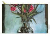 Magenta Oleander Carry-all Pouch