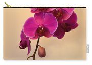 Magenta Phalaenopsis Orchid Carry-all Pouch