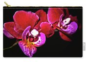 Magenta Phaleonopsis Orchid Carry-all Pouch