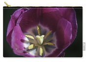 Magenta Tulip Center Squared Carry-all Pouch