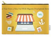 Magento Development Services In Usa Carry-all Pouch