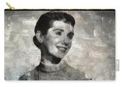 Maggie Mcnamara Vintage Hollywood Actress Carry-all Pouch