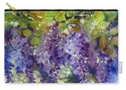 Magic In Purples And Greens Carry-all Pouch