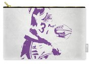 Magic Johnson Los Angeles Lakers Pixel Art Carry-all Pouch