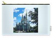 Magic Kingdom Cinderella's Castle #3 Carry-all Pouch