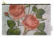 Magic Roses Antique Look Art Carry-all Pouch